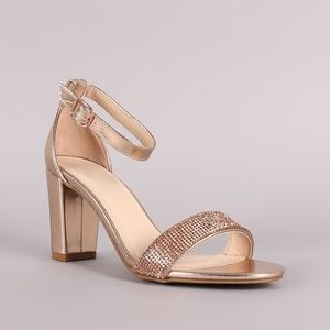 Rose Gold BAMBOO High Heel
